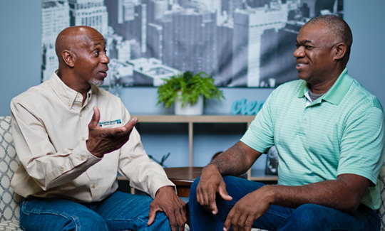 Leroy Hunter coaching an individual client